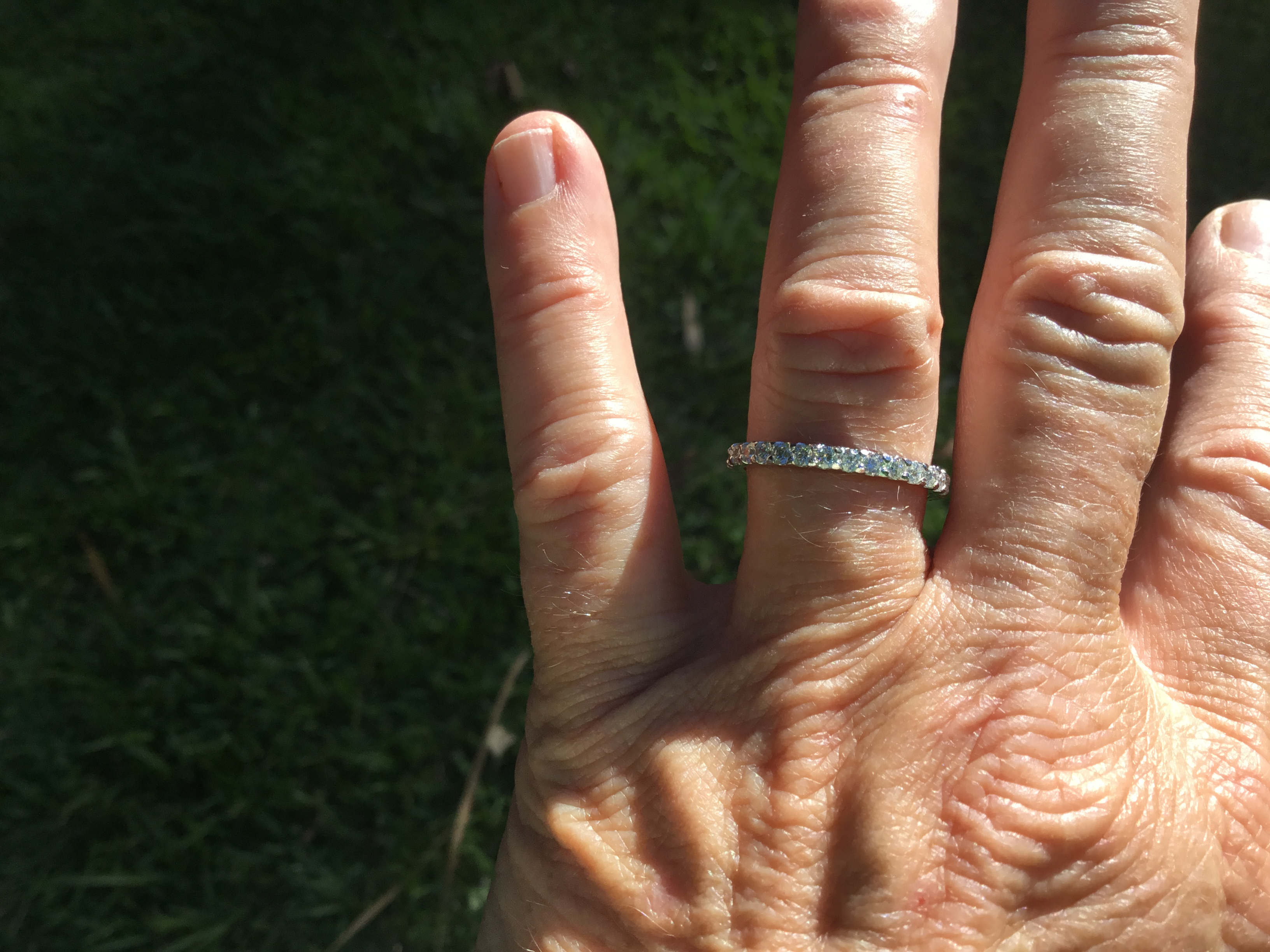 1 carat Diamond eternity ring