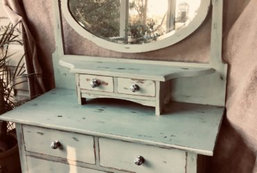 Beautifully restored antique style dresser.