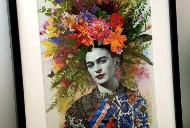 Frida Kahlo Canvas Print unframed