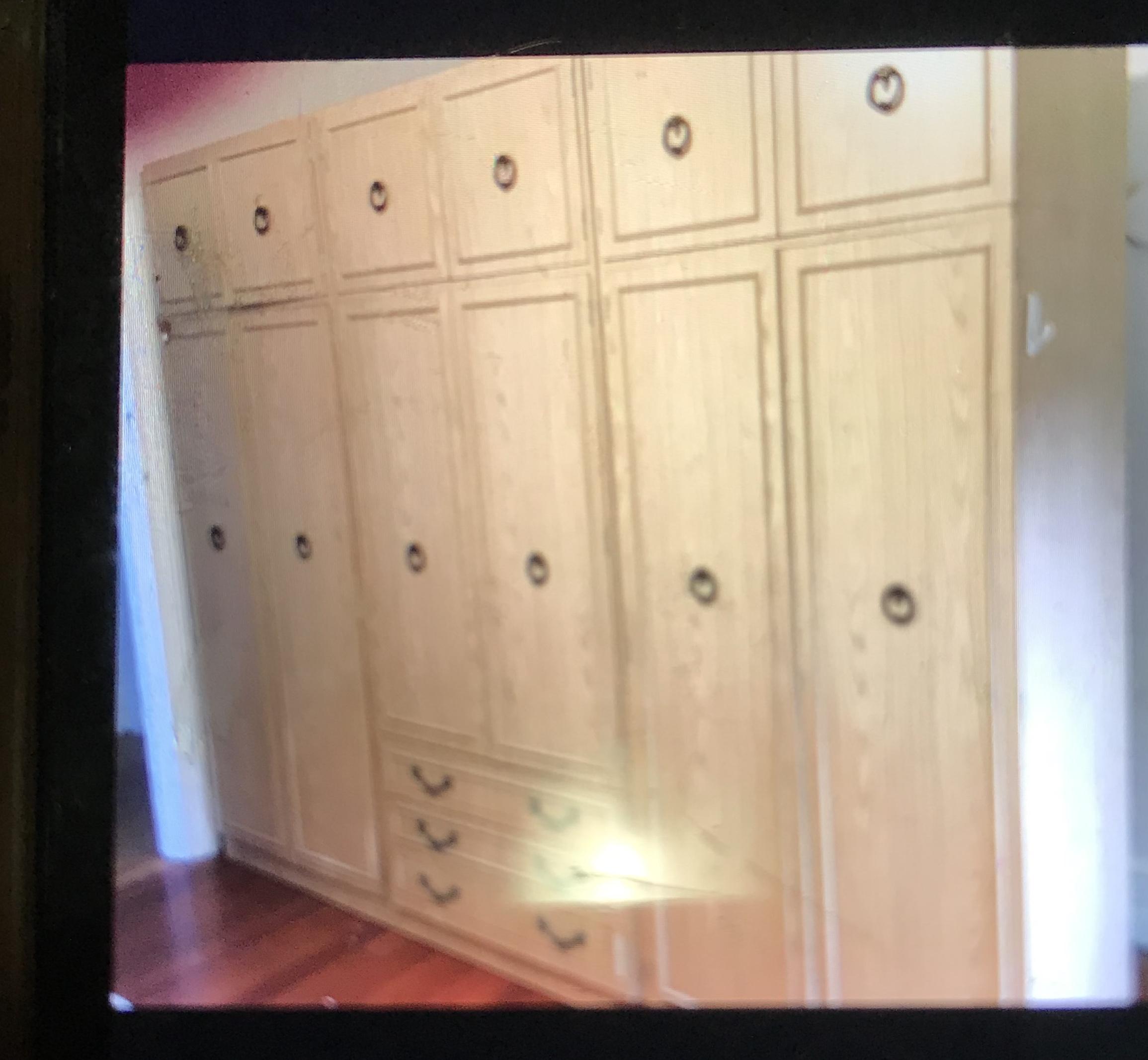 Complete bedroom suite