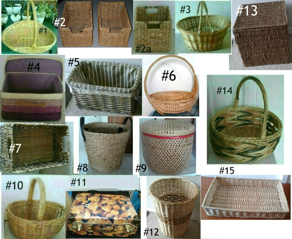 Cane Baskets Gift Baskets Storage