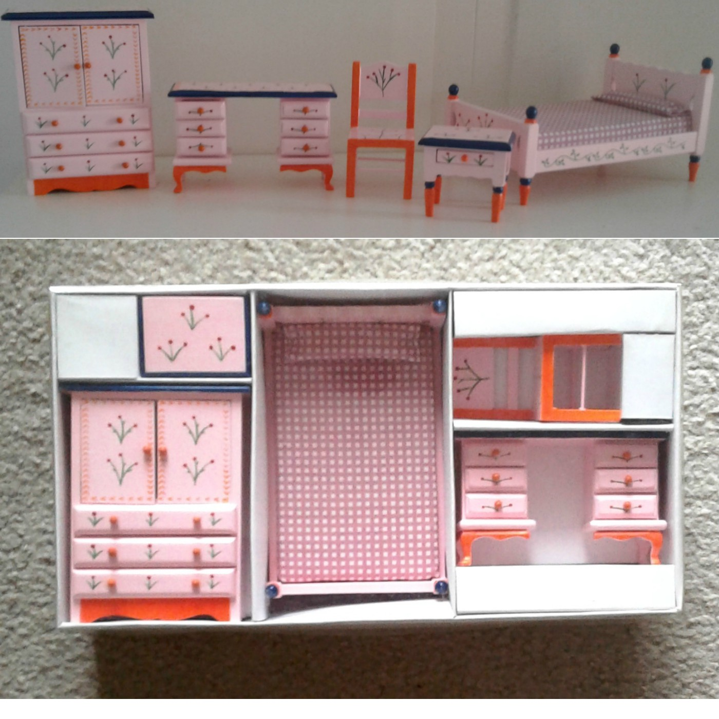 Dollhouses – Fisher Price My First Dollhouse – Rosebud Farm Cottage – Furniture