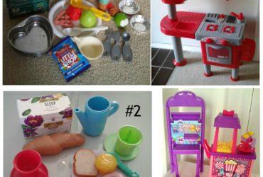 Kids Play Pretend Food Toys  Shopkins Popcorn Toy Kitchen