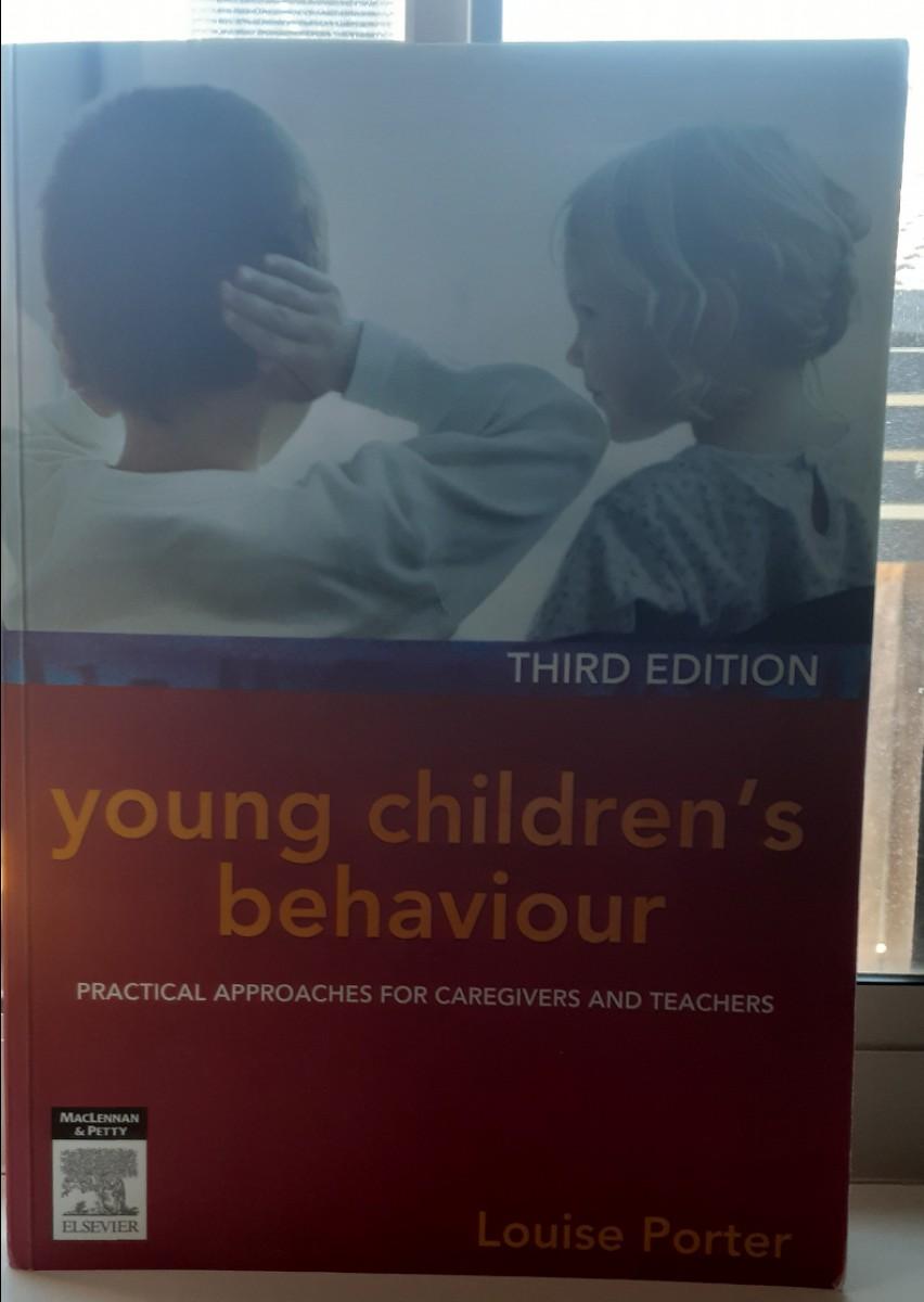 Young children's behavior book