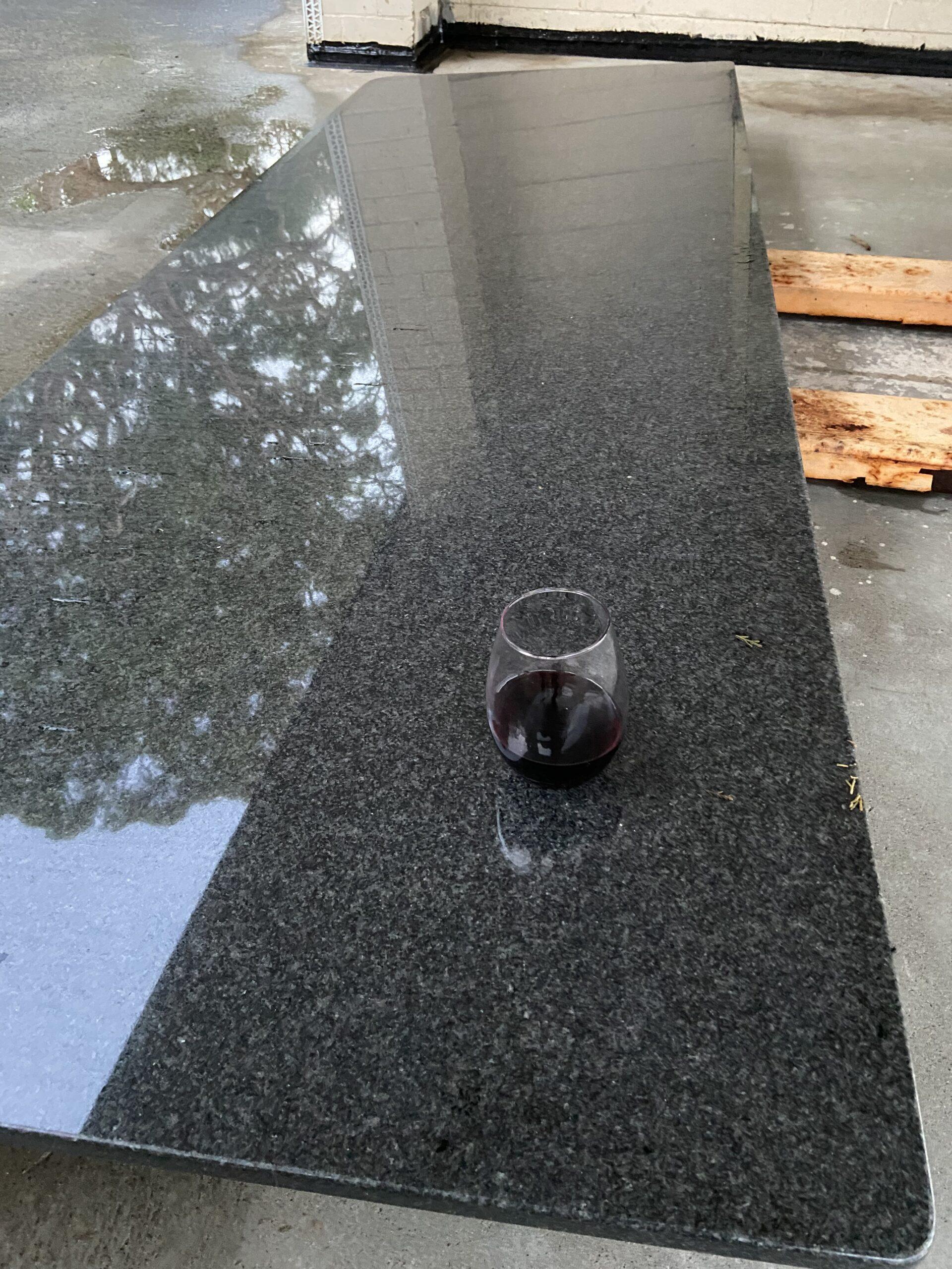 Granite Slab Top to Suit Indoor or Outdoor large bench 2650mm X 900mm.
