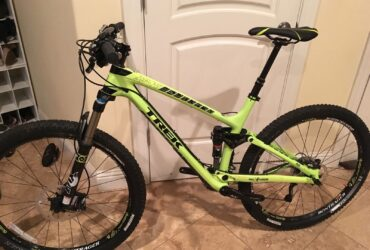 2015 Trek Fuel Ex 9.8 Carbon Frame Mountain Bike.