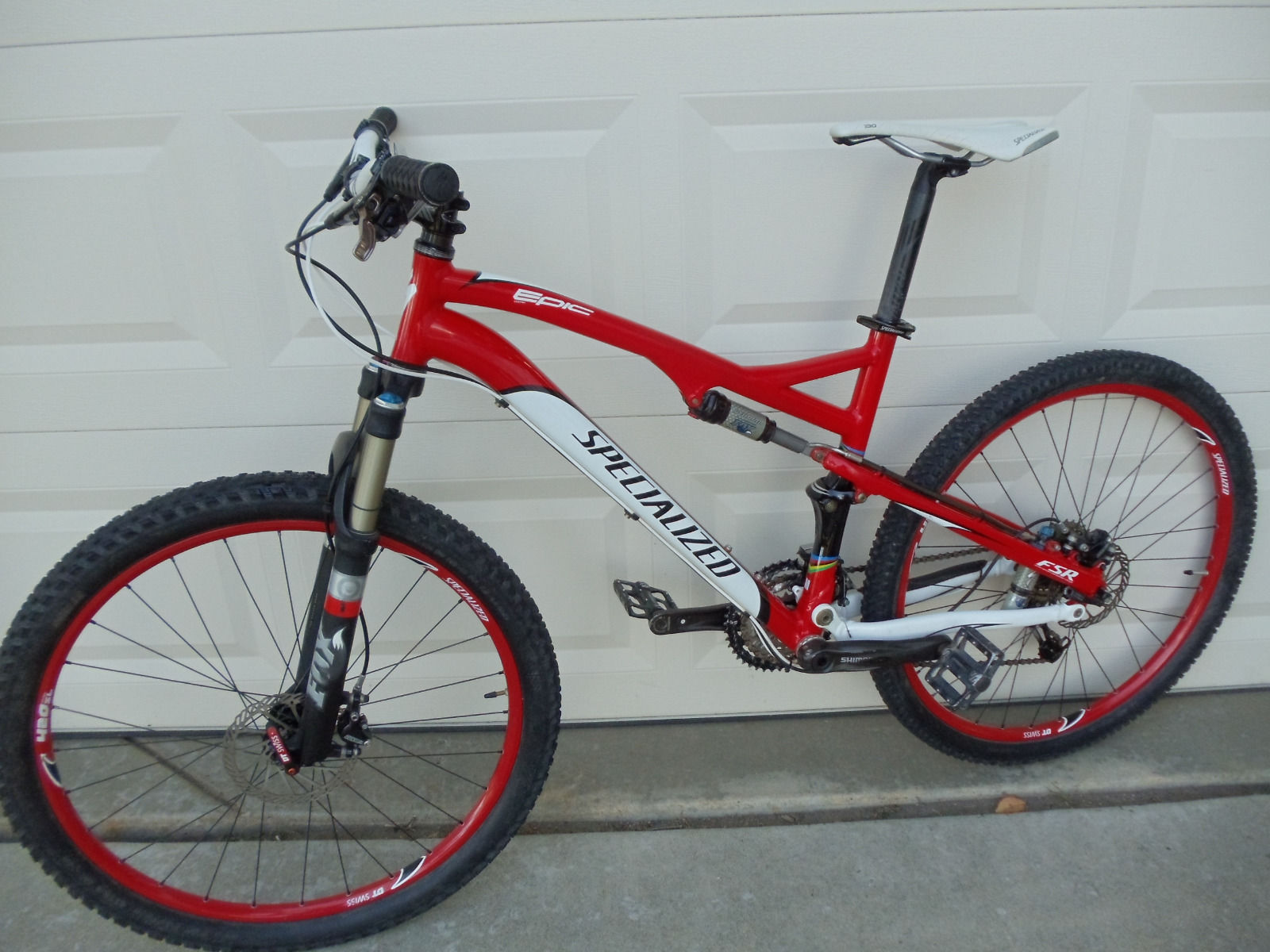 2010 Specialized Epic Comp Fsr Size Medium