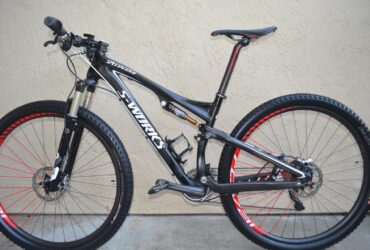 2012 Specialized S-Works Epic 29er Carbon (Medium) Mountain Bike Full Suspension