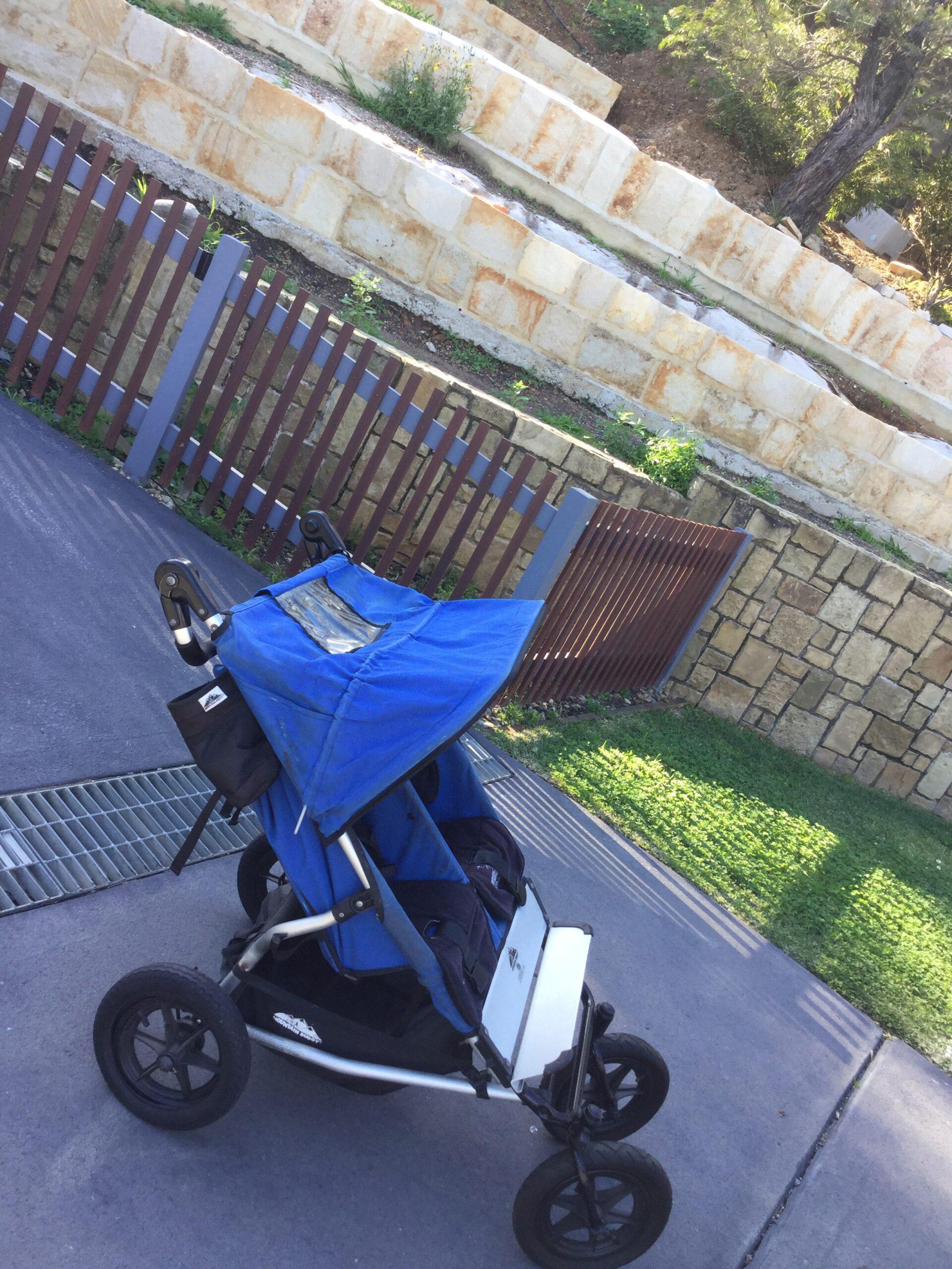 Twin pram mountain buggy
