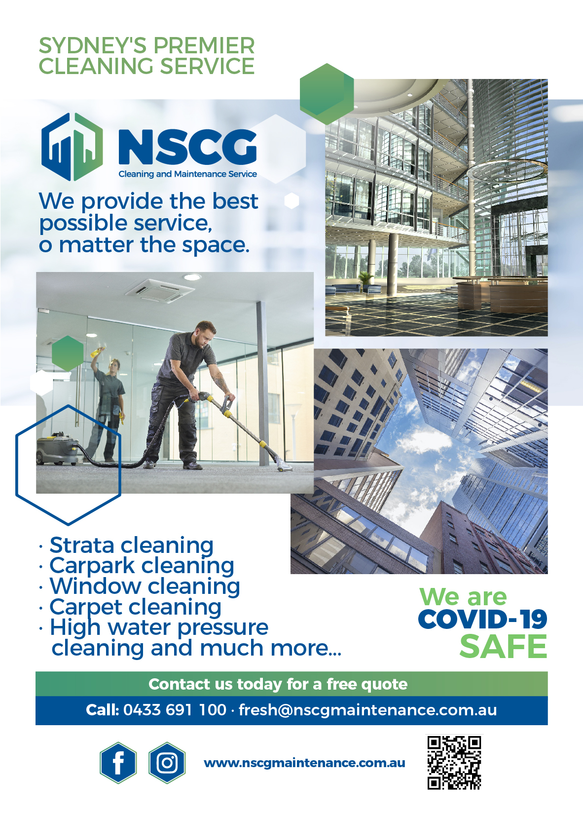 NSCG Cleaning & Maintenance Services