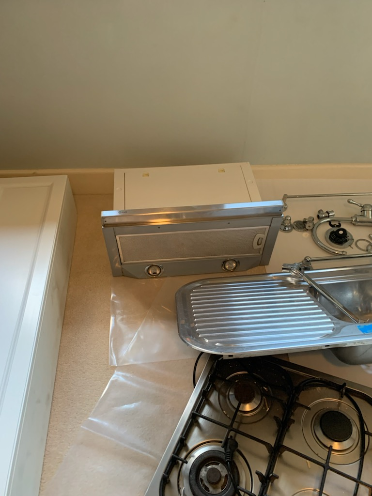 Kitchen SS Extractor Fan