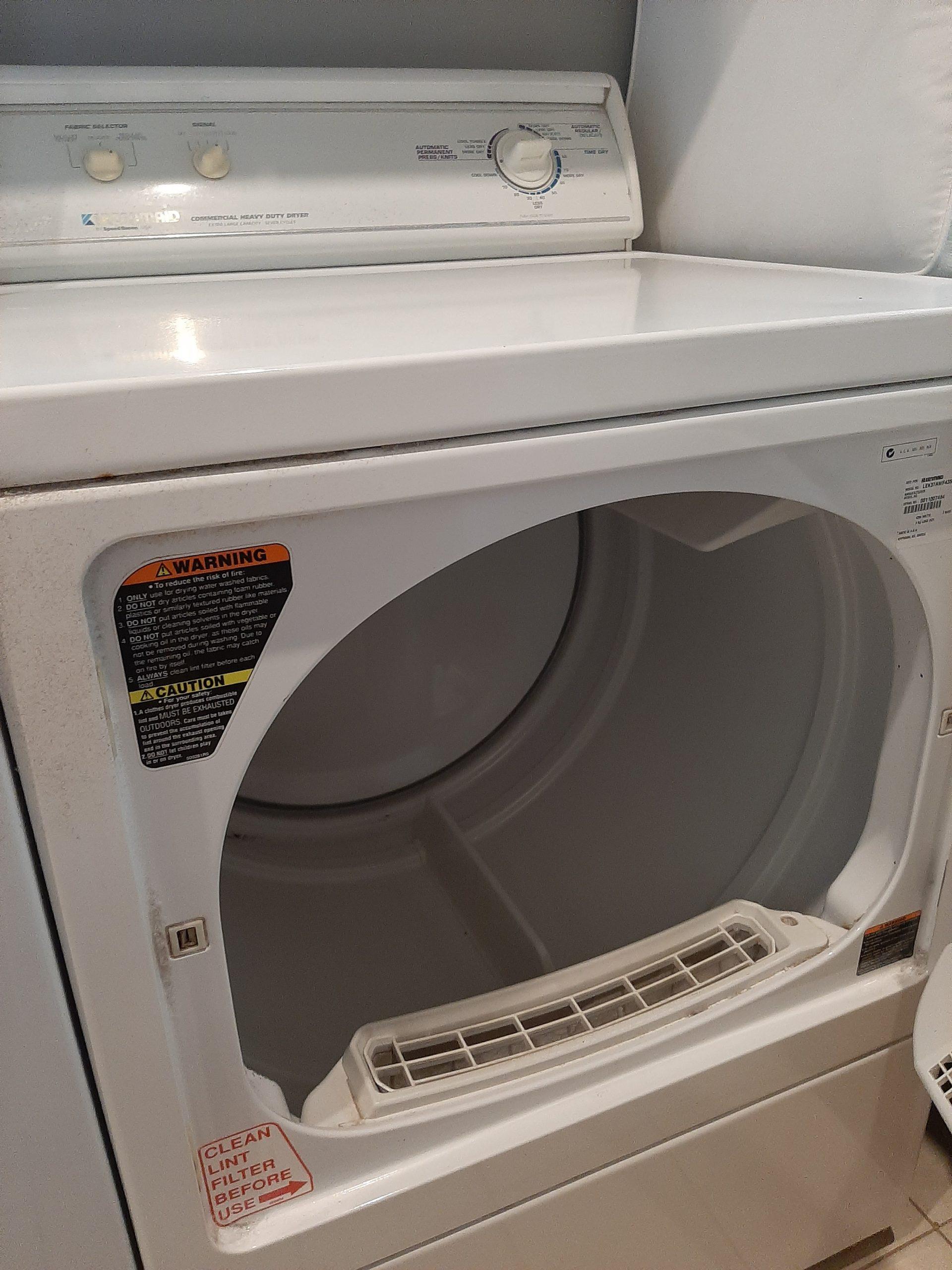 Large clothes dryer
