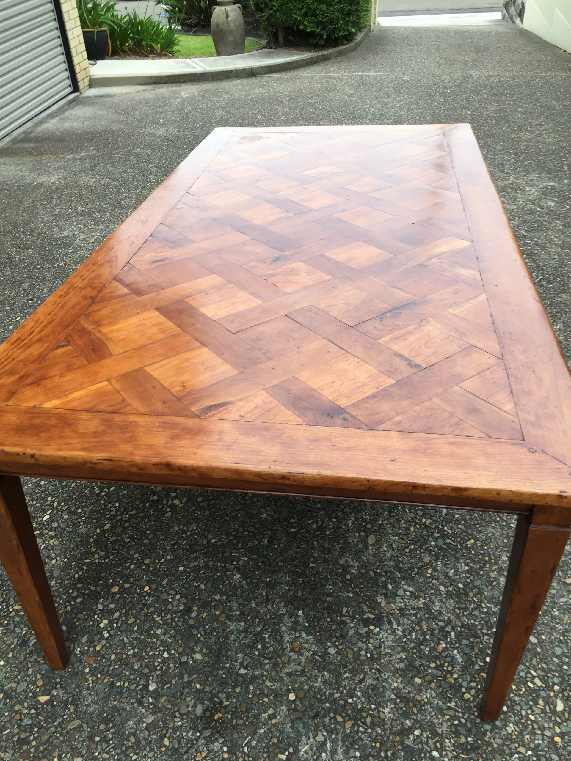 Stunning and Solid Timber Dining Table