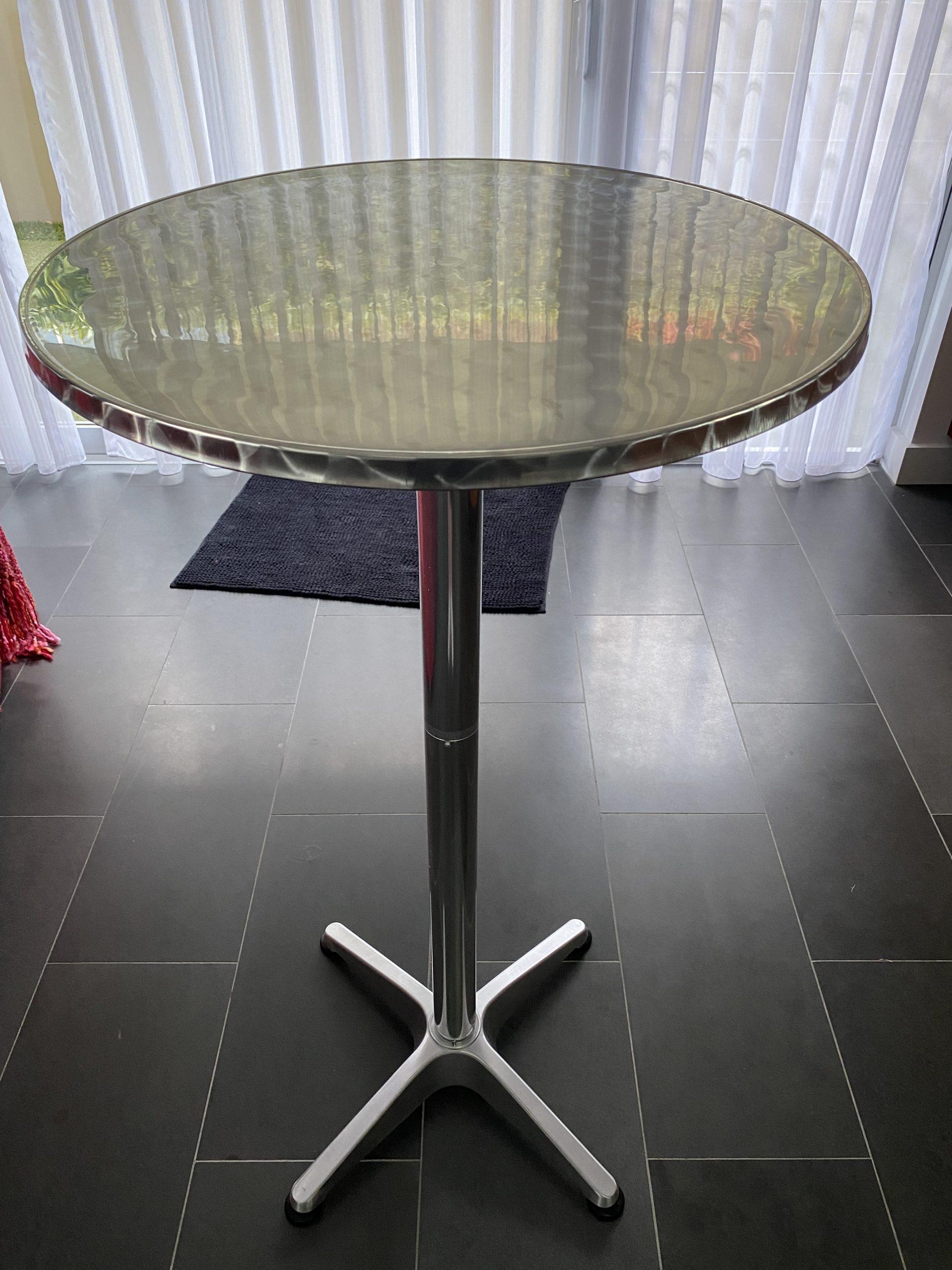 2 x bar tables